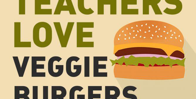 Get a Veggie Burger in Your School Cafeteria