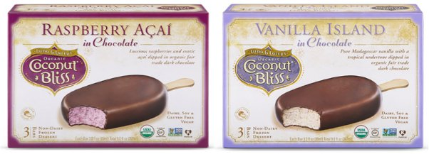 these vegan ice cream bars are made by coconut bliss