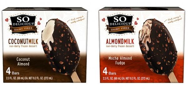 so delicious brand makes vegan ice cream bars