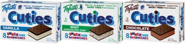 vegan ice cream sandwiches by Tofutti