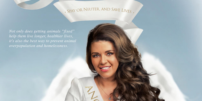 Alicia Machado: Be an Angel for Animals