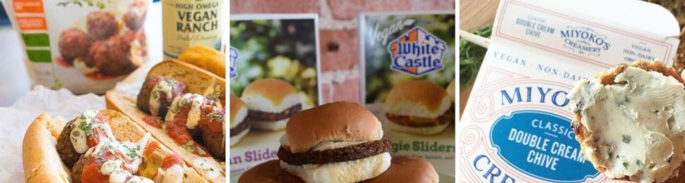 White Castle Veggie Sliders and Other Vegan Items at Kroger