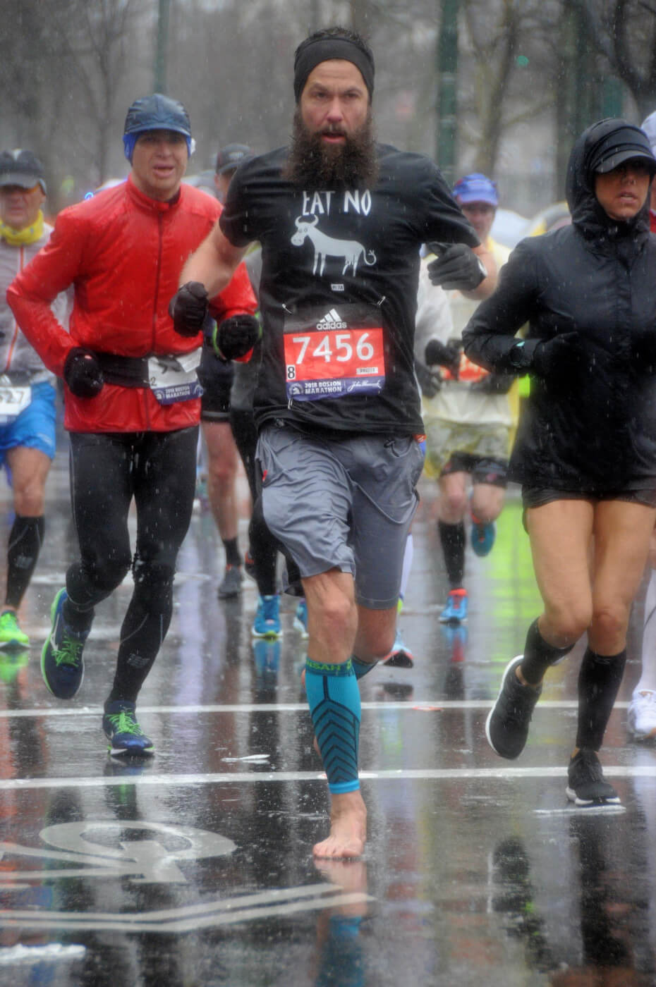 why this vegan runner just ran the boston marathon
