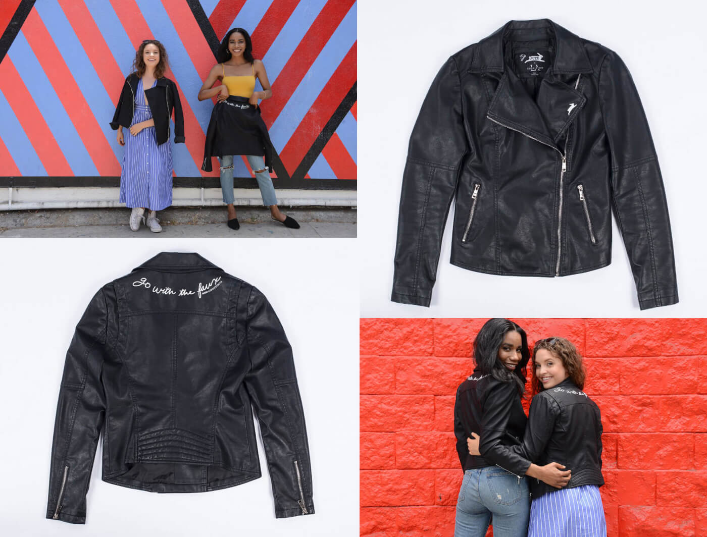 802b8a8cdbf Ride Into the Sunset in These Vegan Leather Motorcycle Jackets