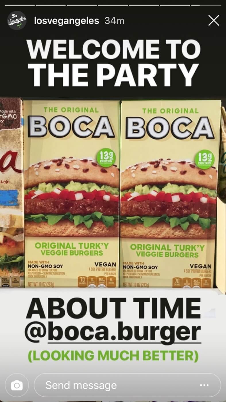 Boca Original Turk'y Veggie Burgers