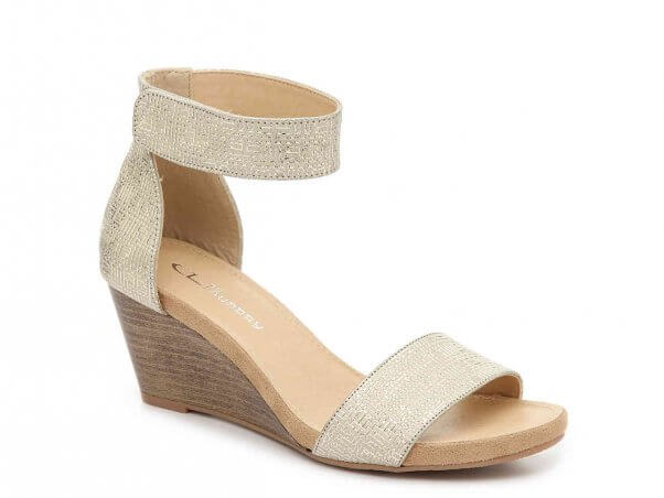Vegan Hot Zone Wedge Shoe by CL Laundry