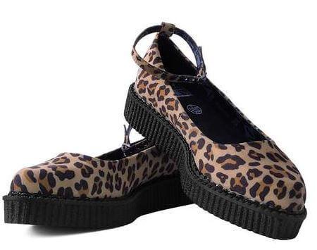 Vegan Leopard Creeper by TUK Footwear