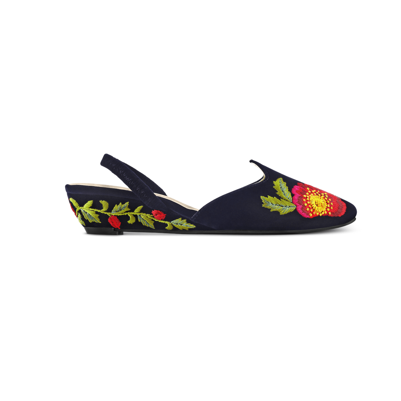 ec511b9bbd91 Hand-embroidered Rungg shoes are made with premium vegan leather that is  durable