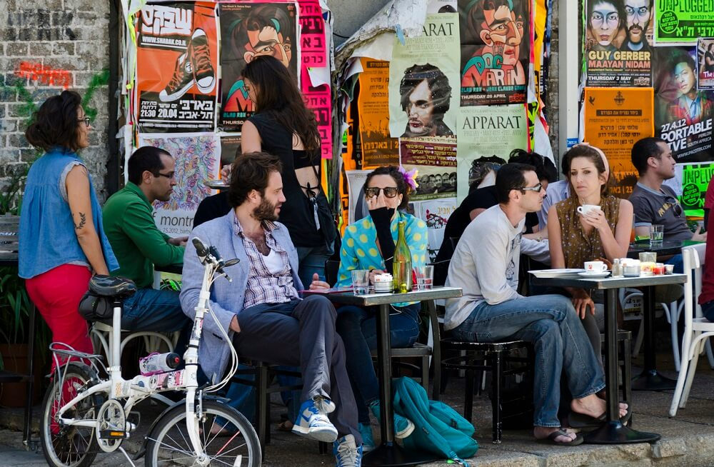 Young people in Israel