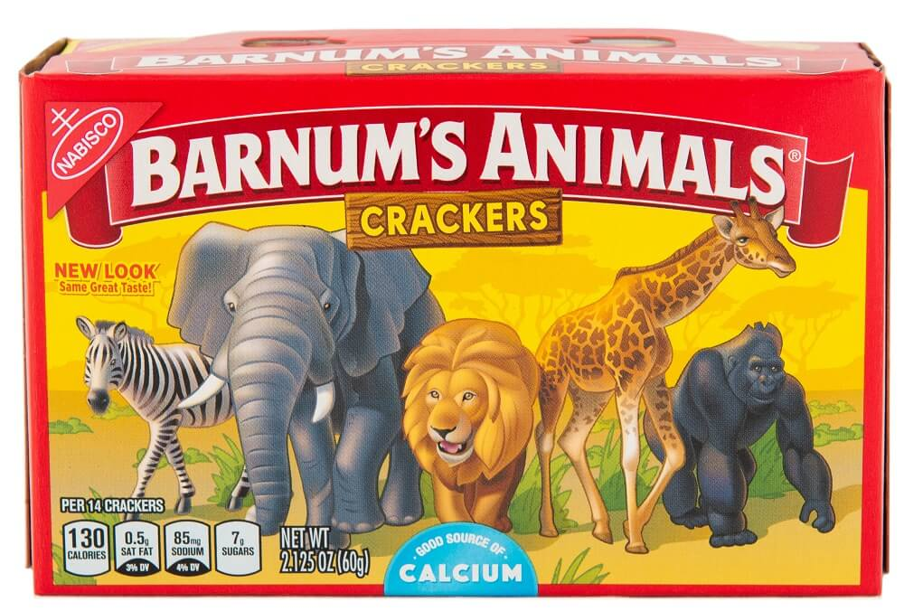 barnum s animals crackers cuts cages from box peta