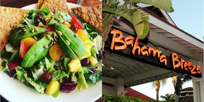 Here's How to Order Vegan at Bahama Breeze Island Grille