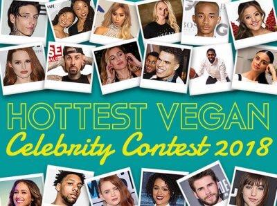 WINNERS: See 2018's Hottest Vegan Celebs