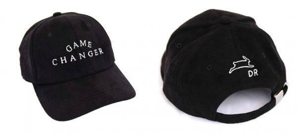 PETA and Delikate Rayne 'Game Changer' black hat