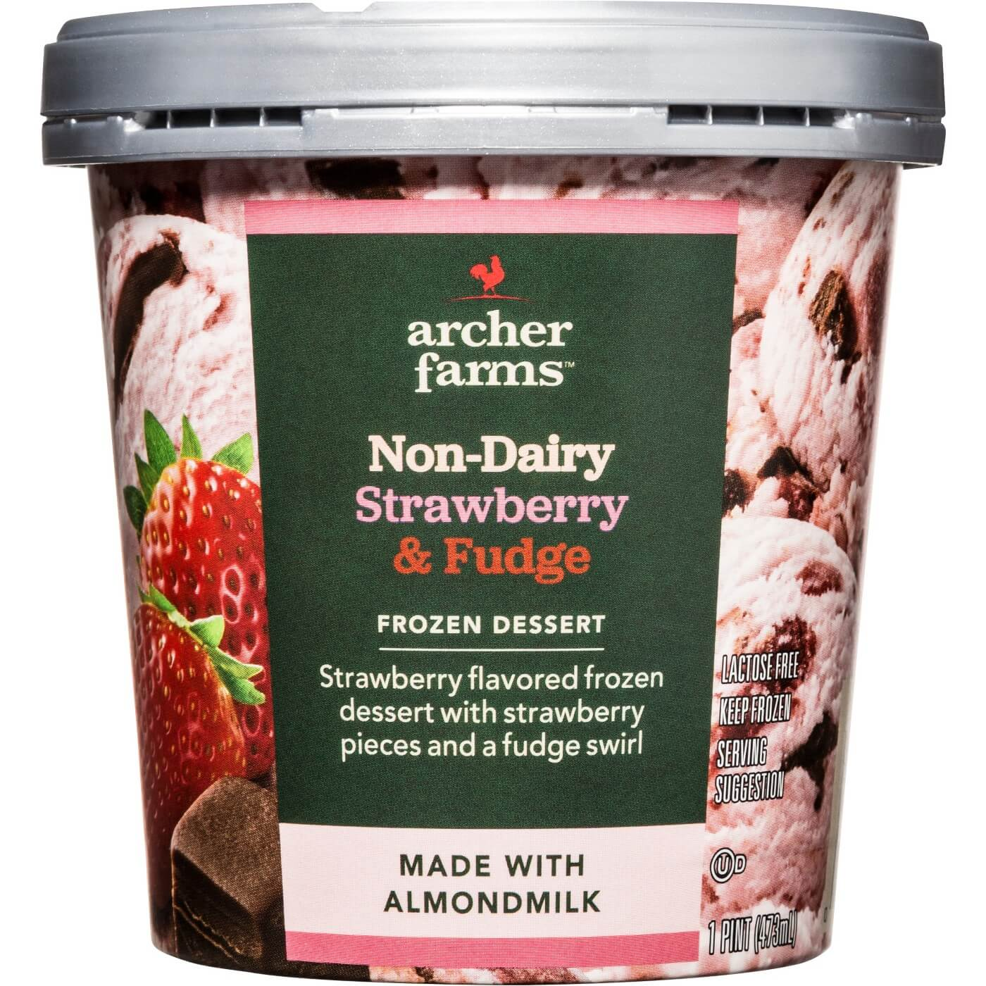 Vegan Products at Target: Archer Farms Non Dairy Strawberry Ice Cream