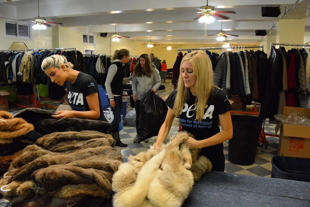 PETA Fur Coat Donation Program