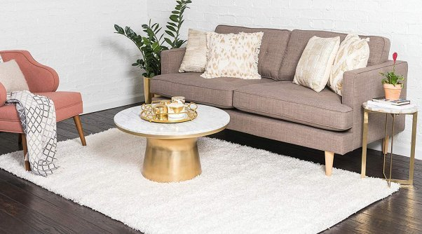 this vegan shag rug is great for any decor