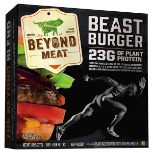 the beast burger from beyond meat
