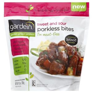 vegan at meijer shopping guide: gardein porkless bites