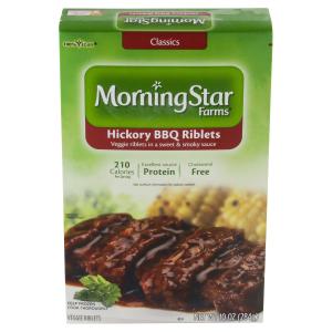 vegan meals at meijer: morningstar riblets
