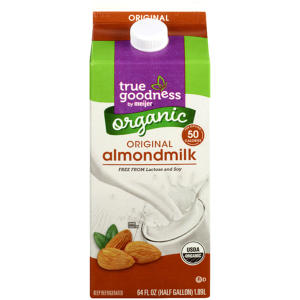vegan milk options are available at meijer stores