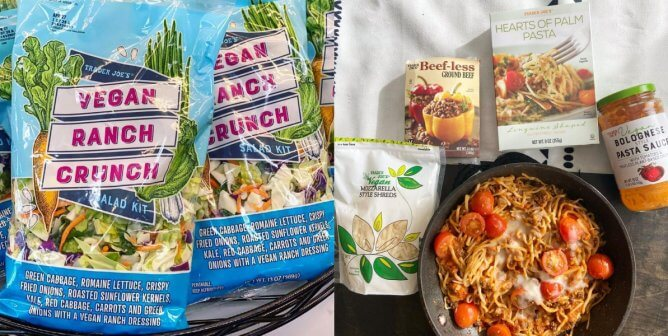 Brand-New Vegan Trader Joe's Products to Stock Up On