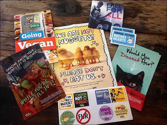 Guide to Going Vegan Sticker