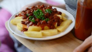 Spicy Texas Chili Fries