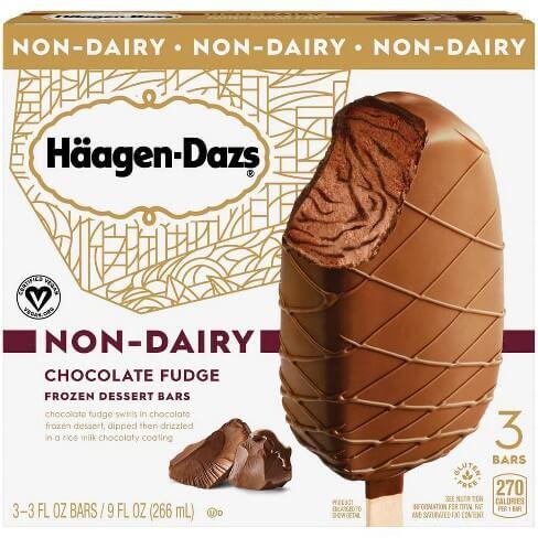 haagen dazs nondairy chocolate fudge bars