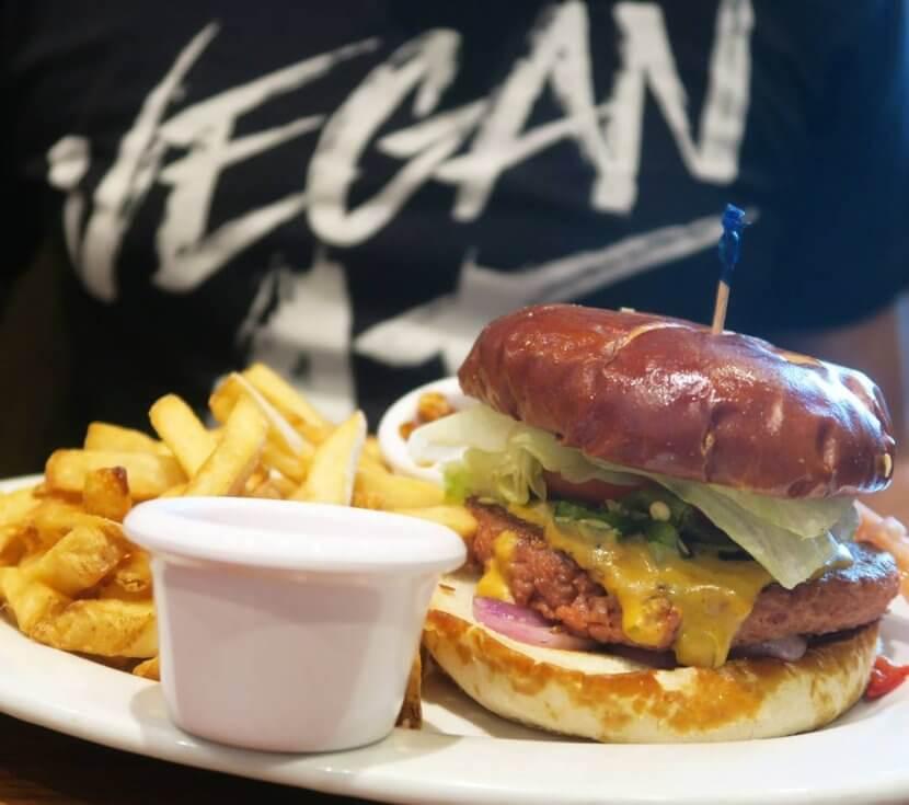 Veggie Grill Beyond Burger
