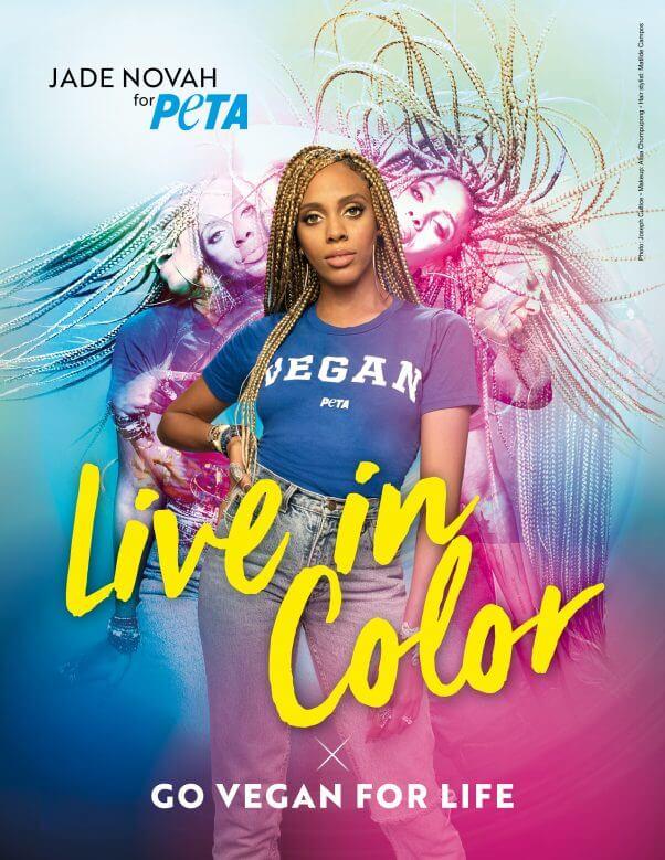 Jade Novah Vegan Live in Color