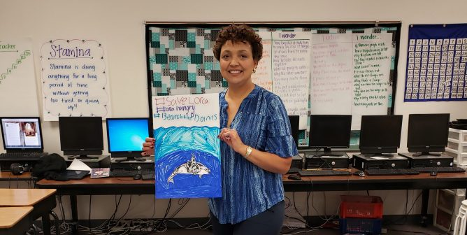 Teacher Spotlight: Meet Christine Lawrence