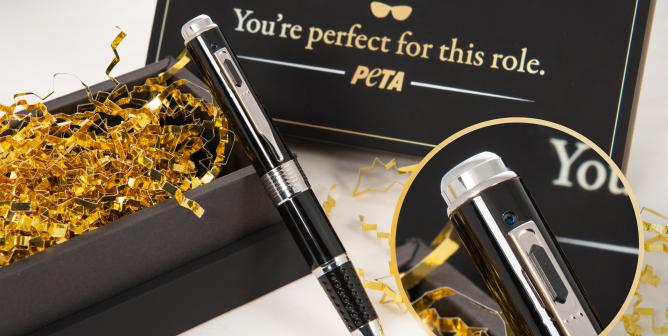 PETA's Secret Spy Pen Makes Whistleblowers Out of Top Oscar Nominees