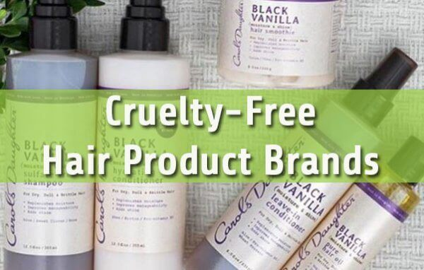 Cruelty Free Hair Product Guide