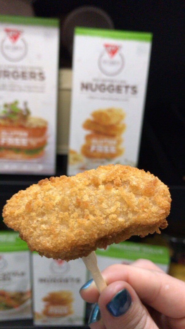 fry family foods new vegan chicken nuggets