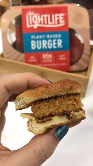 lightlife plant-based burger