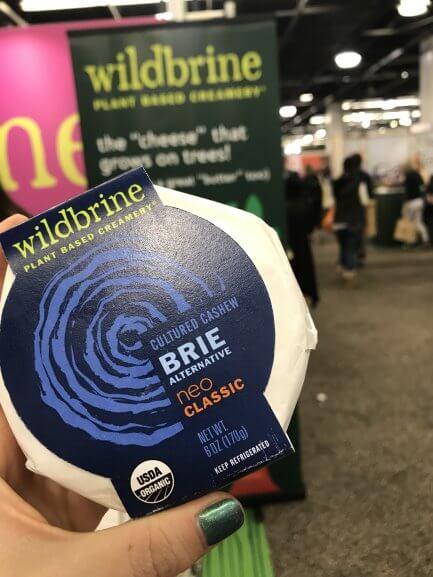 wildbrine cultured cashew brie alternative