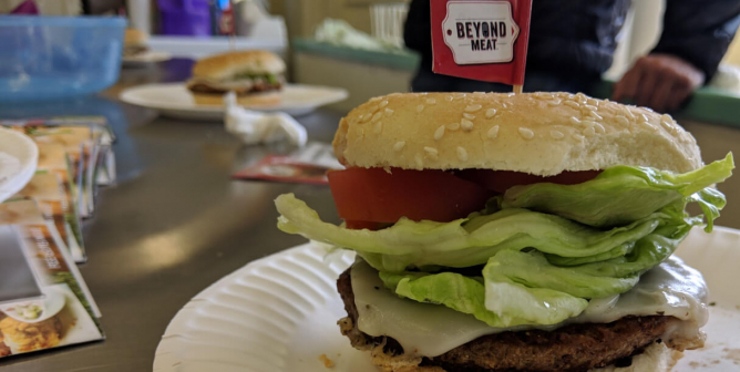 High School Culinary Students Are Going Vegan, One Beyond Burger at a Time
