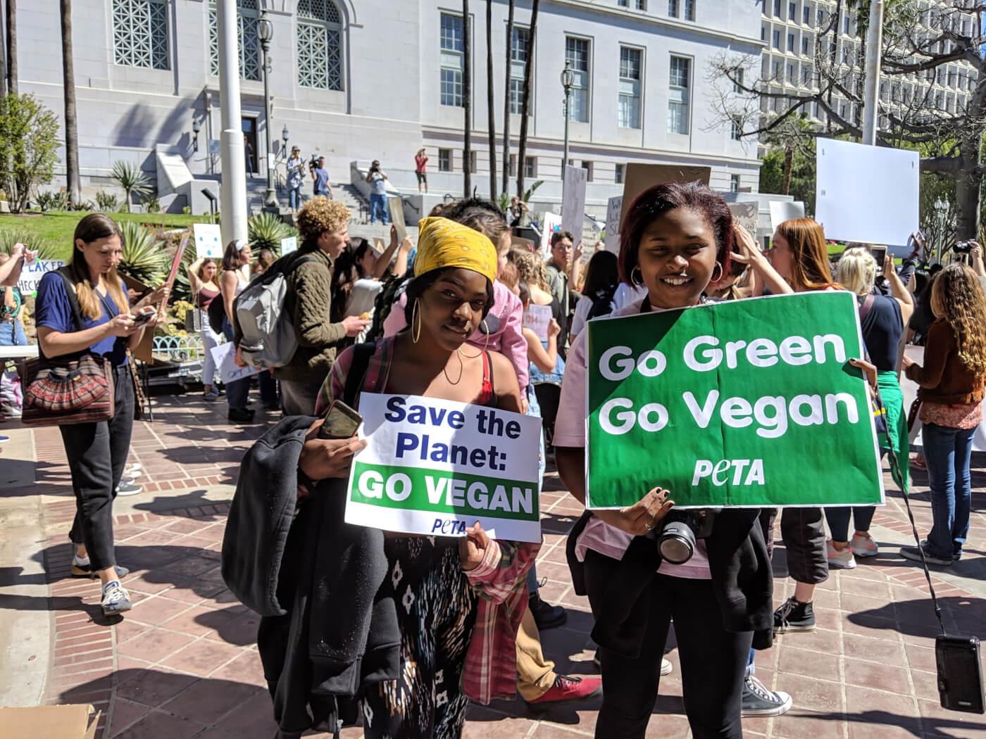 Teen-Led Climate Strike