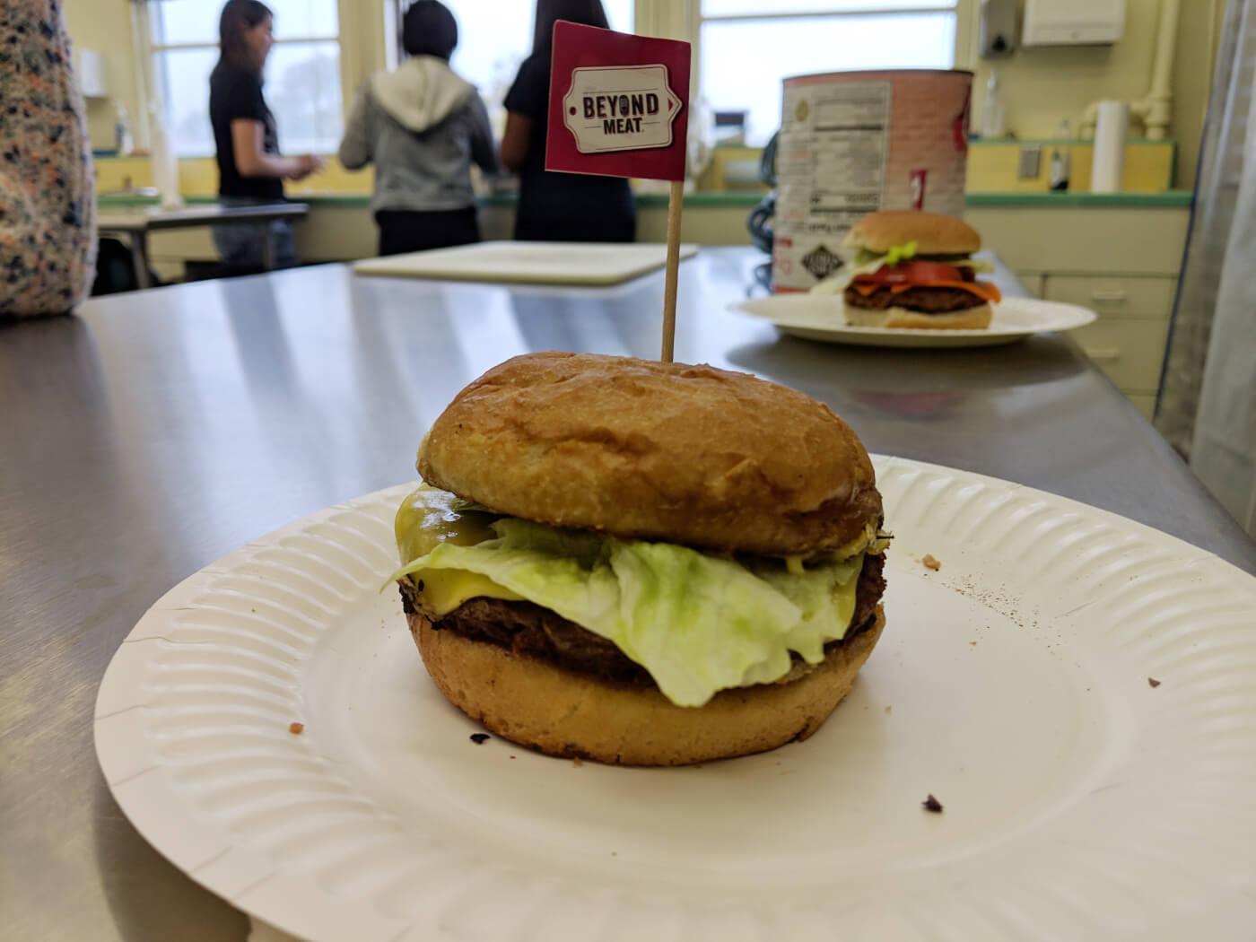 high school culinary vegan food