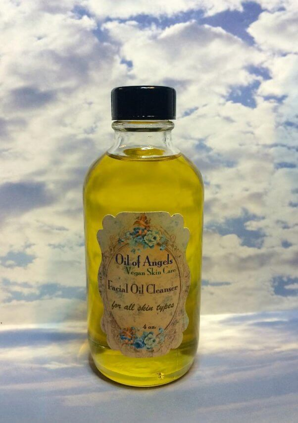 organic facial oil cleanser from oil of angels