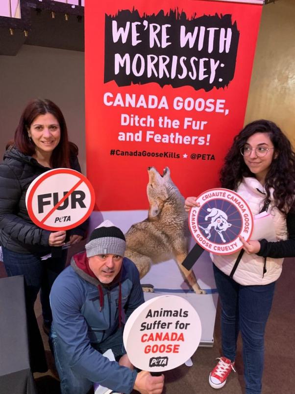 Morrissey Canada Tour Canada Goose