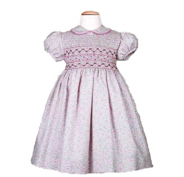 a pretty pink dress for the new royal baby in your life