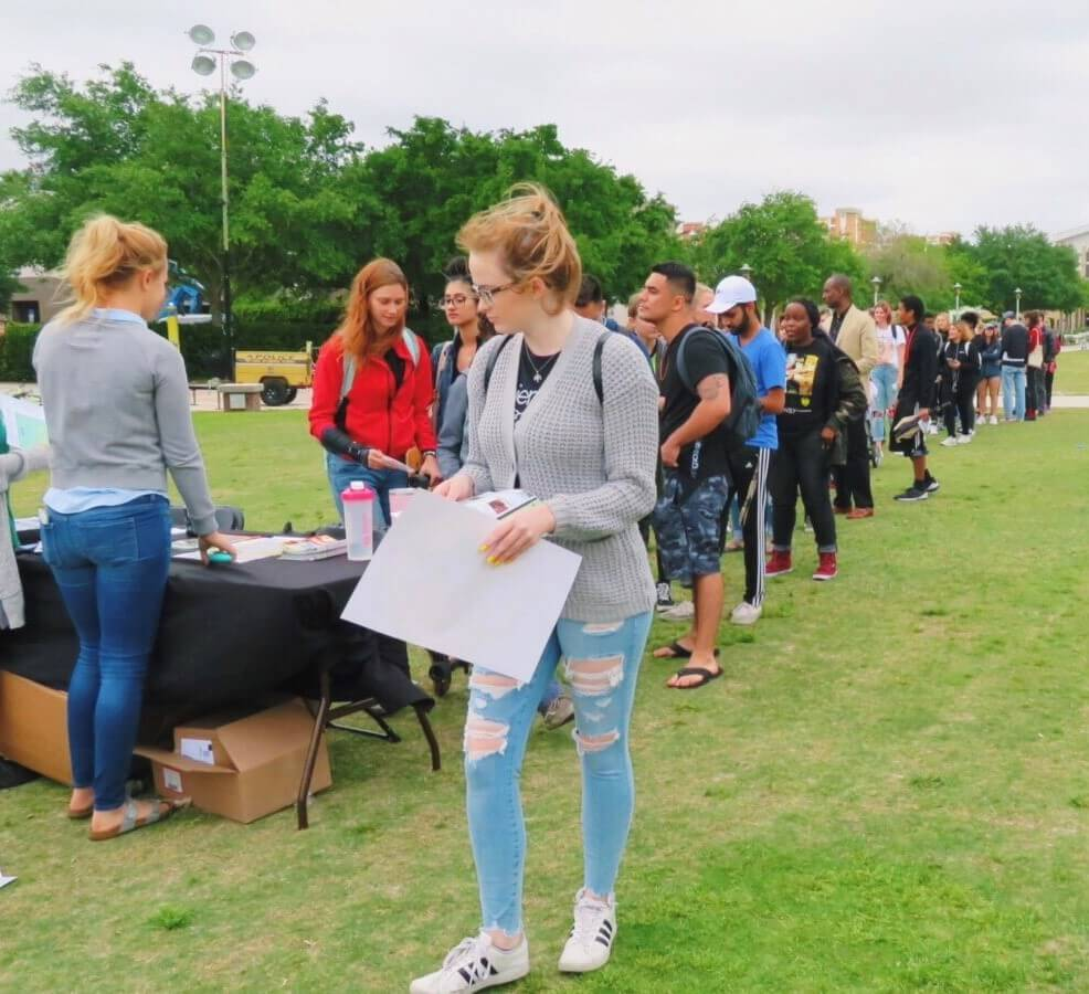 Vegfest at UCF, Vegan, Festival, University of Central Florida, PETA Campus Rep, Knights for Animals Rights