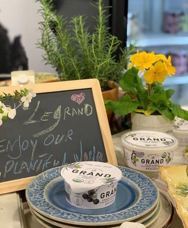 Le Grand Dairy Free Yogurt and Cheese