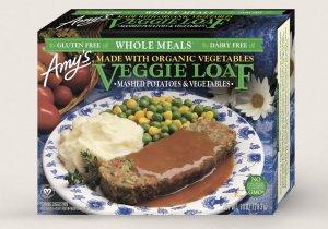 Amys Vegan Veggie Loaf Dinner