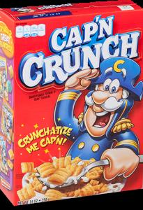 Capn Crunch Cereal