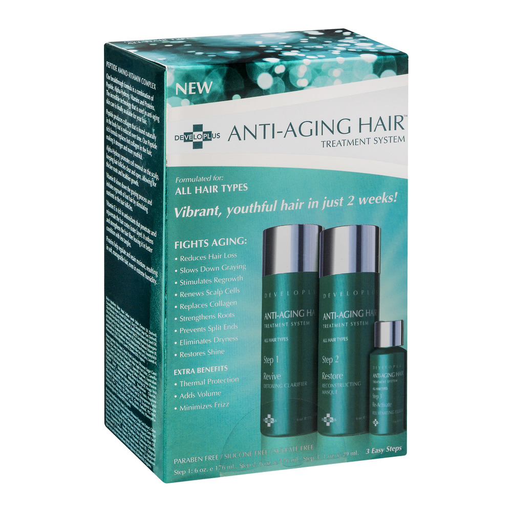 Developlus Anti-Aging Hair Treatment System