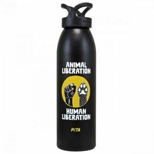 PETA Shop Human Animal Liberation Water Bottle