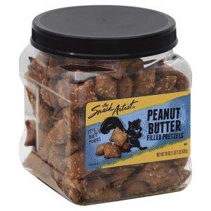 Snack Artist Safeway Brand Peanut Butter Filled Pretzels