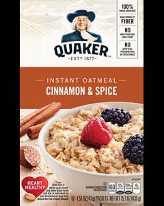 Quaker Oatmeal Instant Oats